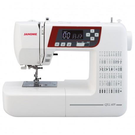 JANOME QXL605 + GRATIS